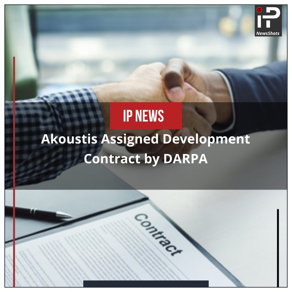 Akoustis Assigned Development Contract by DARPA