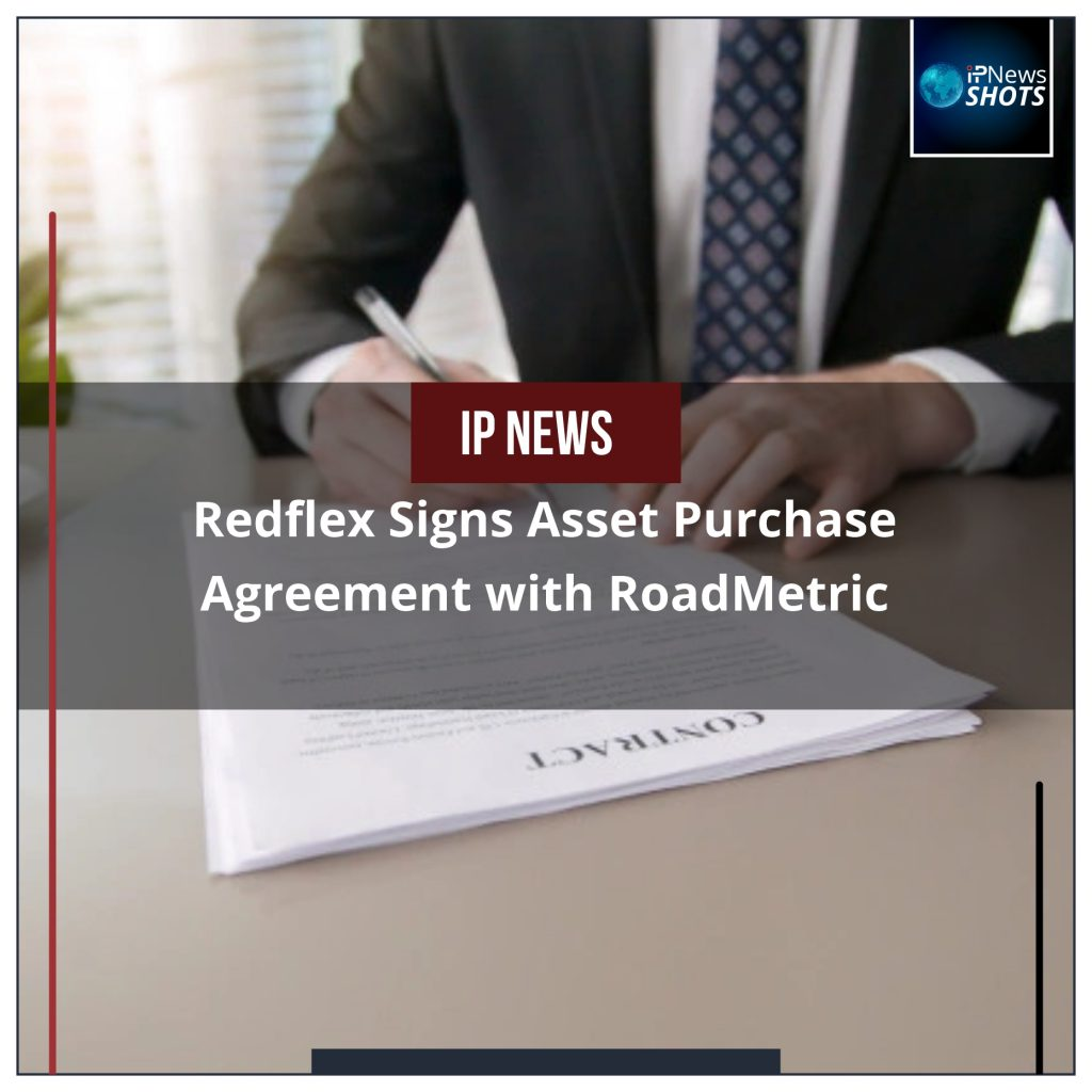Redflex Signs Asset Purchase Agreement with RoadMetric