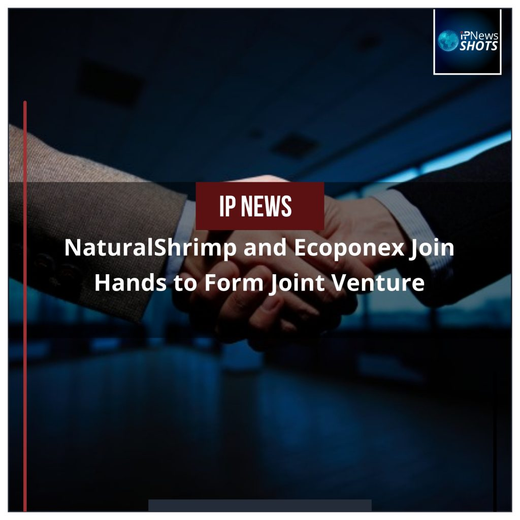 NaturalShrimp and Ecoponex Join Hands to Form Joint Venture
