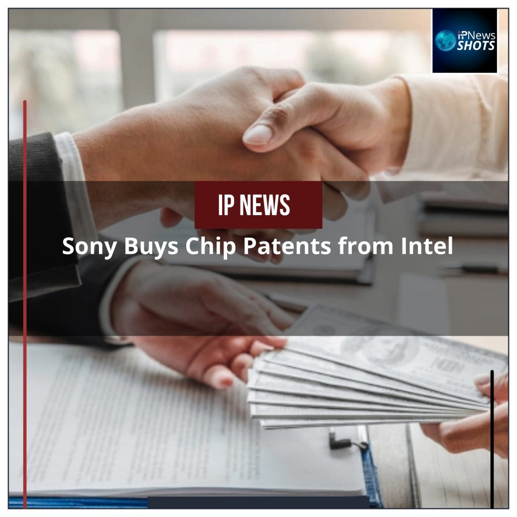 Sony Buys Chip Patents from Intel