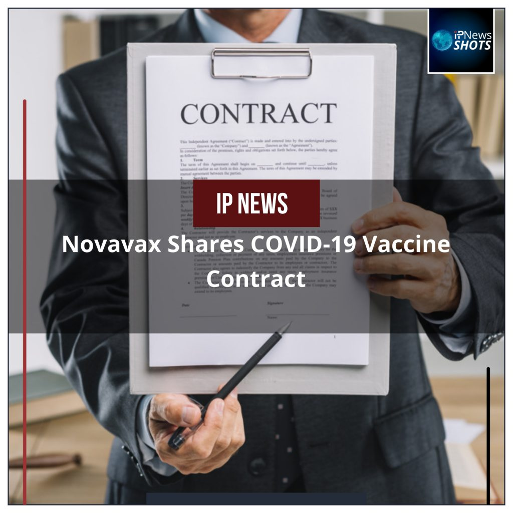 Novavax Shares COVID-19 Vaccine Contract