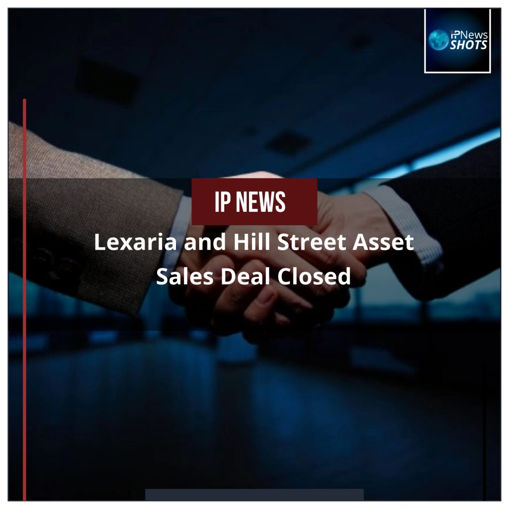 Lexaria and Hill Street Asset Sales Deal Closed