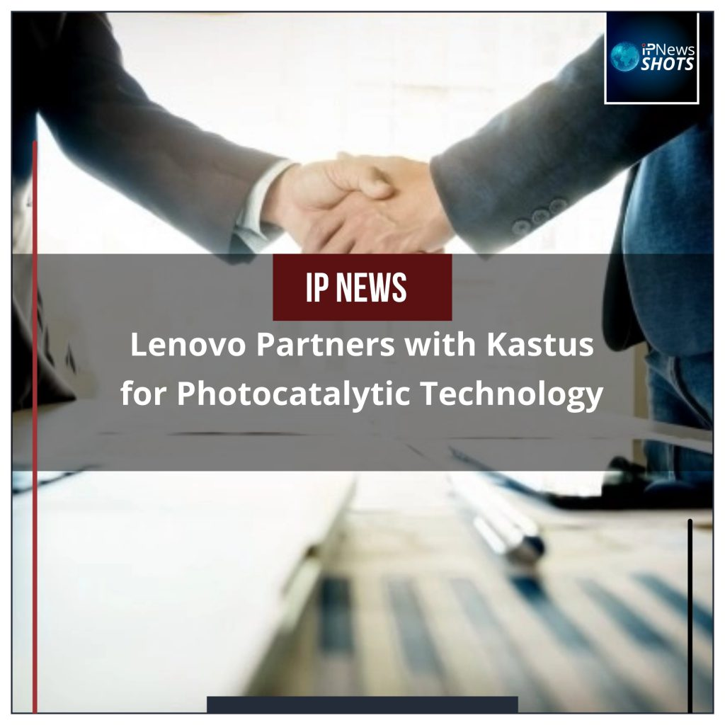 Lenovo Partners with Kastus for Photocatalytic Technology
