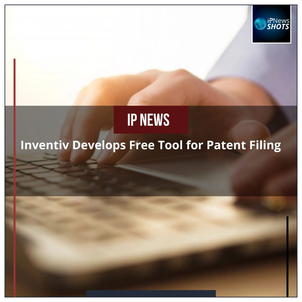 Inventiv Develops Free Tool for Patent Filing
