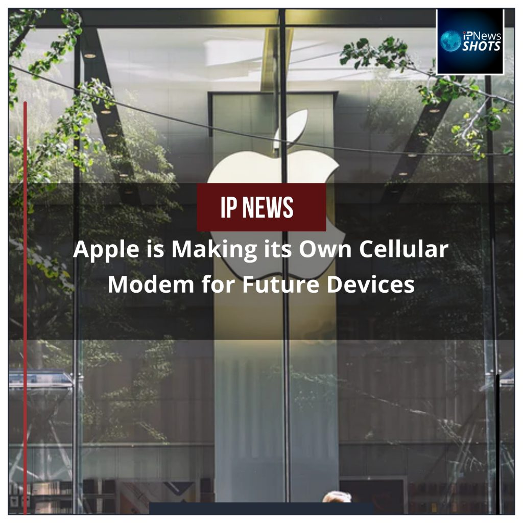 Apple is Making its Own Cellular Modem for Future Devices