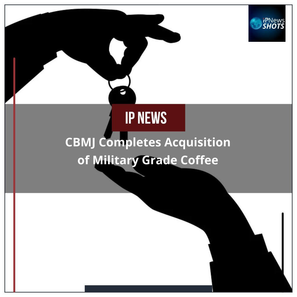 CBMJ Completes Acquisition of Military Grade Coffee