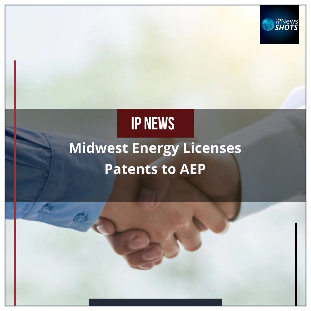 Midwest Energy Licenses Patents to AEP
