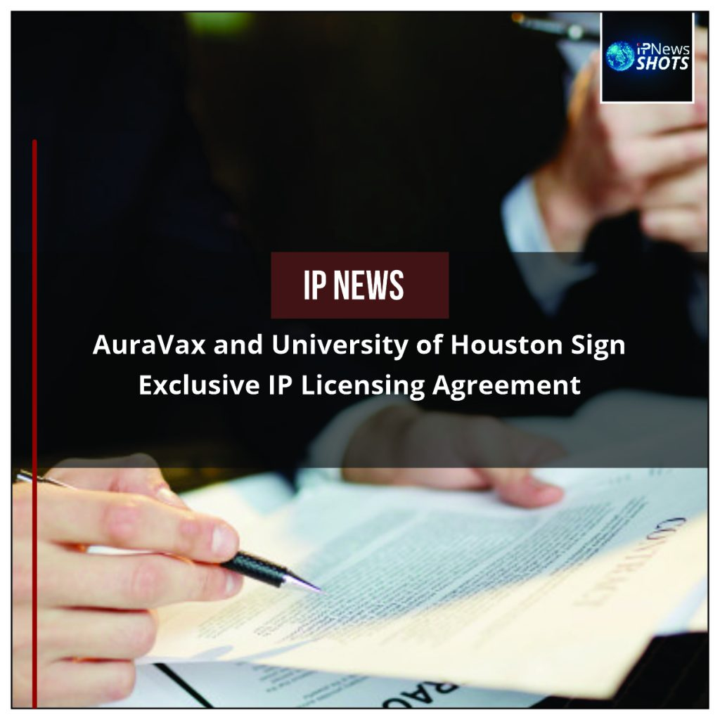 AuraVax and University of Houston Sign Exclusive IP Licensing Agreement