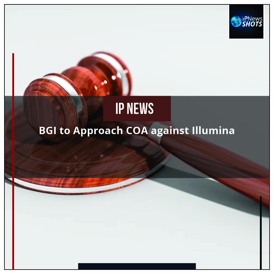 BGI to Approach COA against Illumina