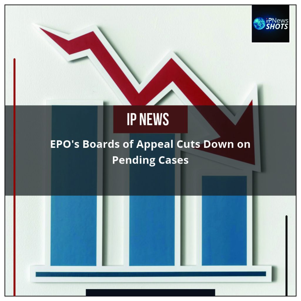 EPO's Boards of Appeal Cuts Down on Pending Cases