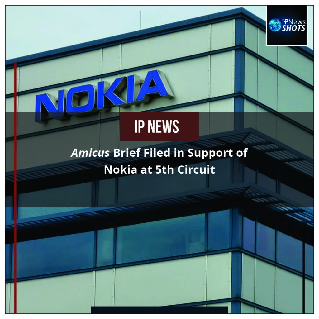 Amicus Brief Filed in Support of Nokia at 5th Circuit