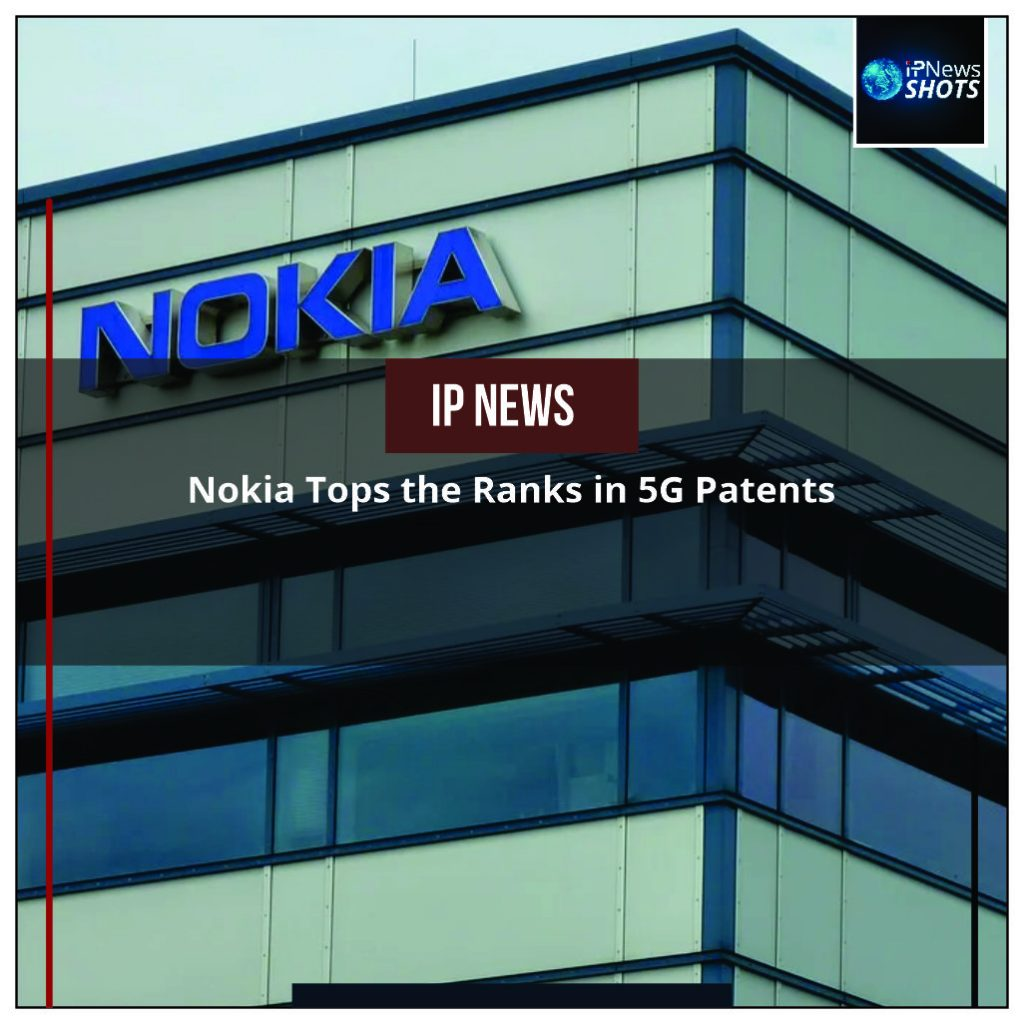Nokia Tops the Ranks in 5G Patents