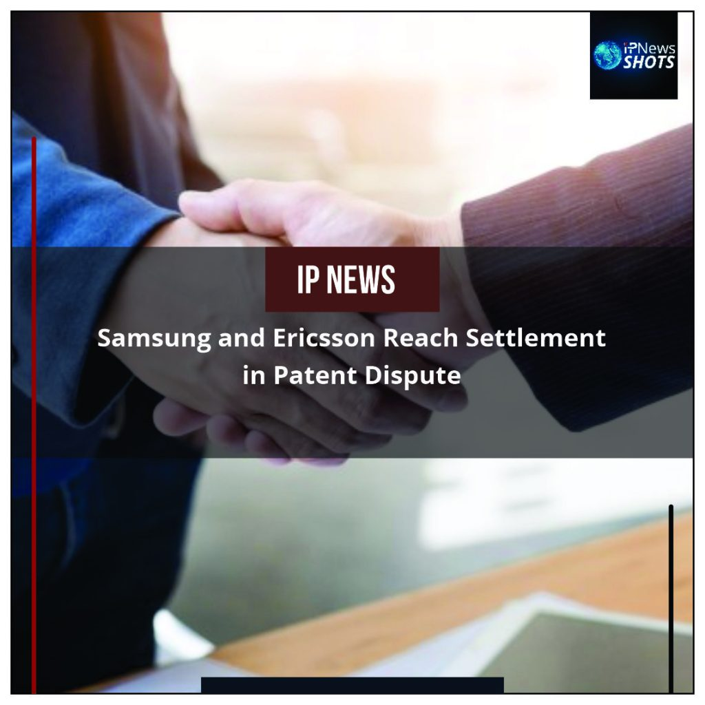 Samsung and Ericsson Reach Settlement in Patent Dispute