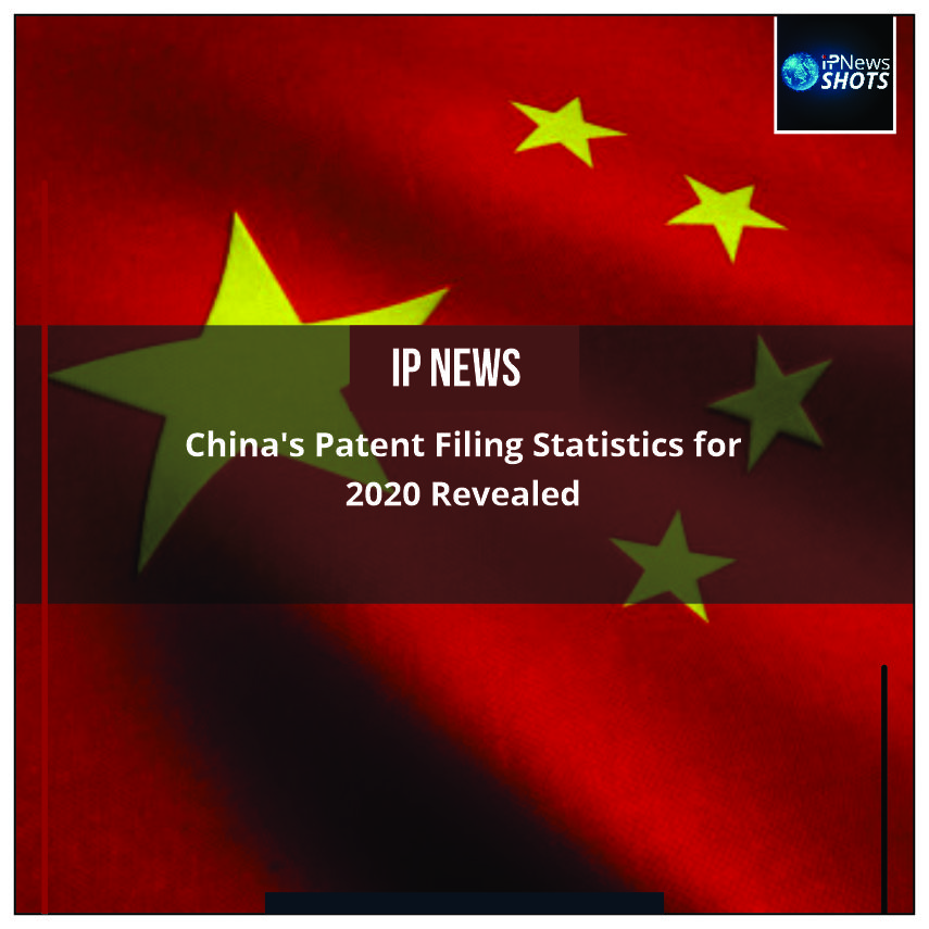 China's Patent Filing Statistics for 2020 Revealed