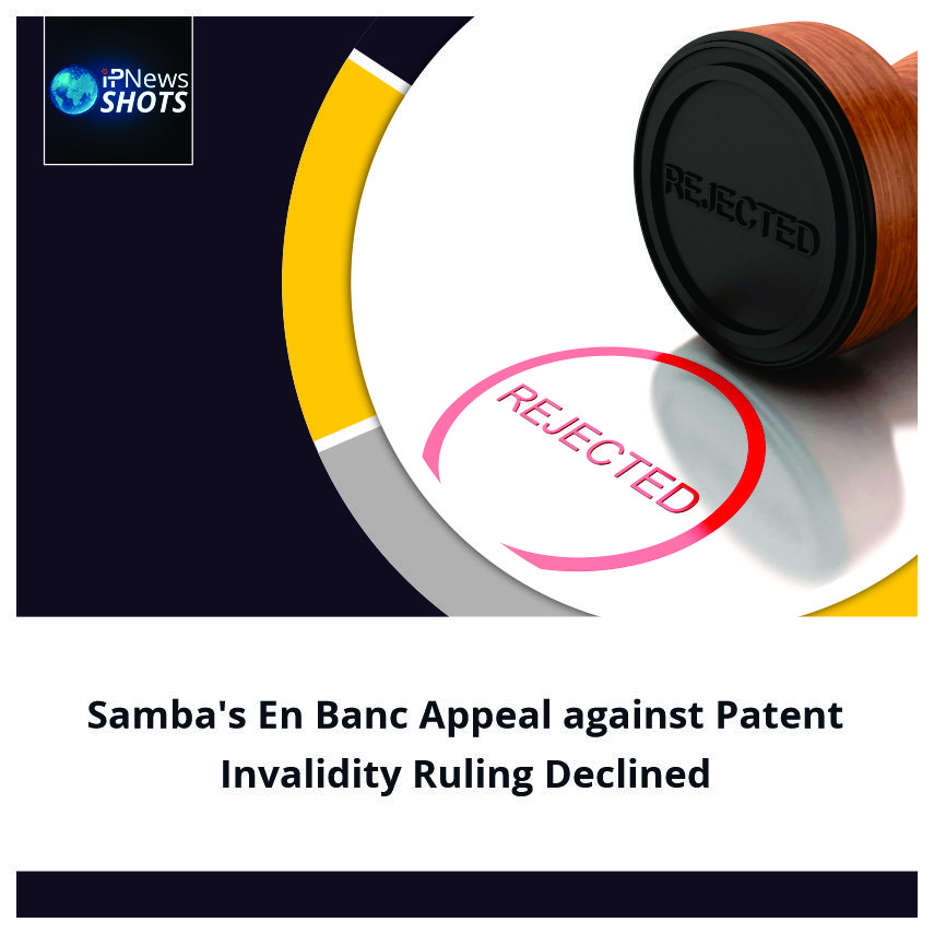 Samba'sEn BancAppeal against Patent Invalidity Ruling Declined