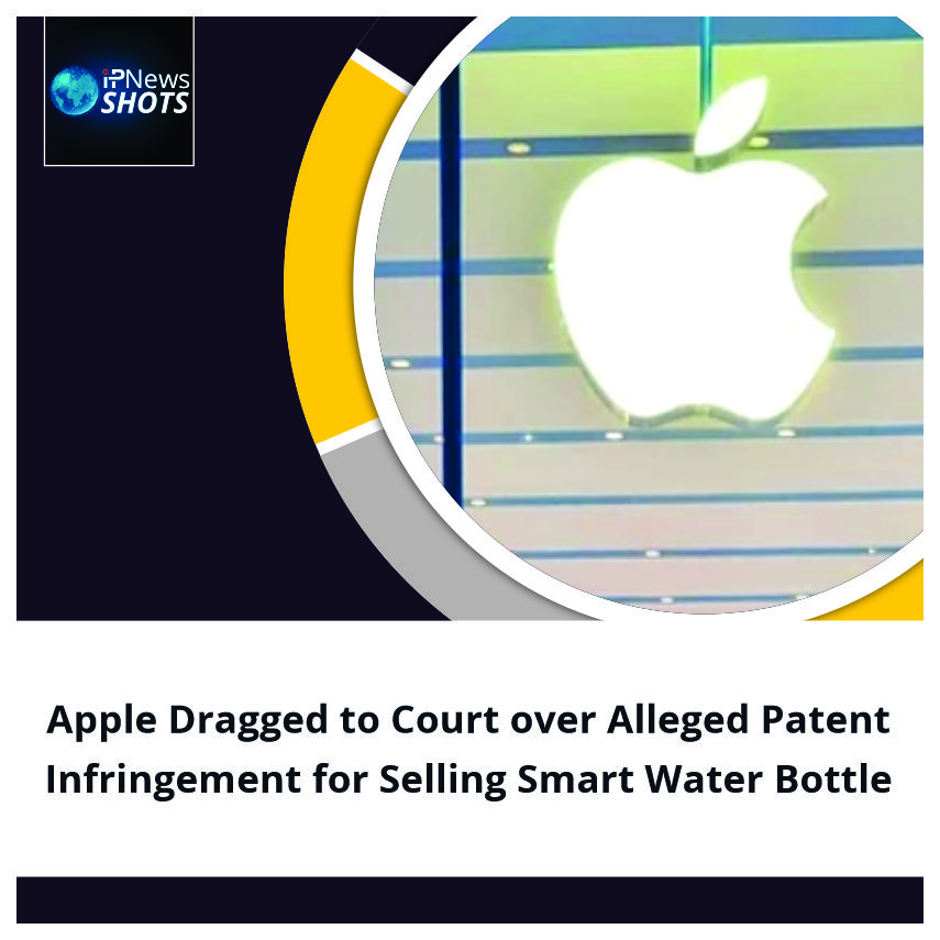 Apple Dragged to Court over Alleged Patent Infringement for Selling Smart Water Bottle