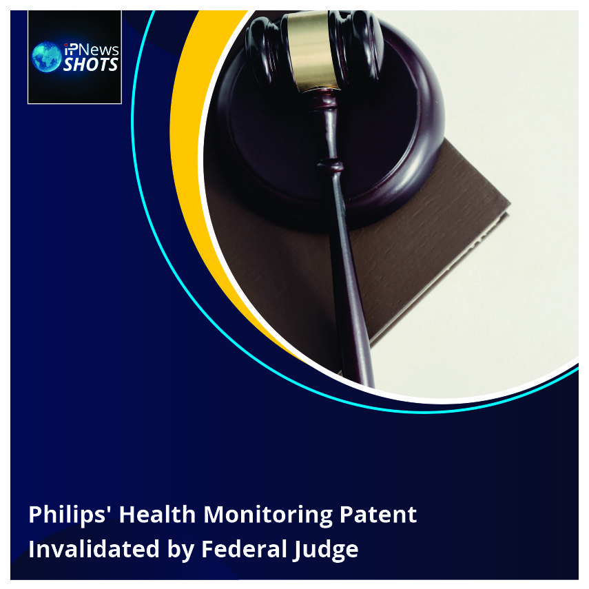 Philips' Health Monitoring Patent Invalidated by Federal Judge