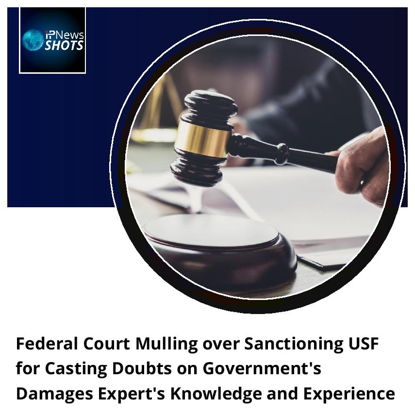 FederalCourt Mulling over Sanctioning USF for Casting DoubtsonGovernment's Damages Expert's Knowledge and Experience