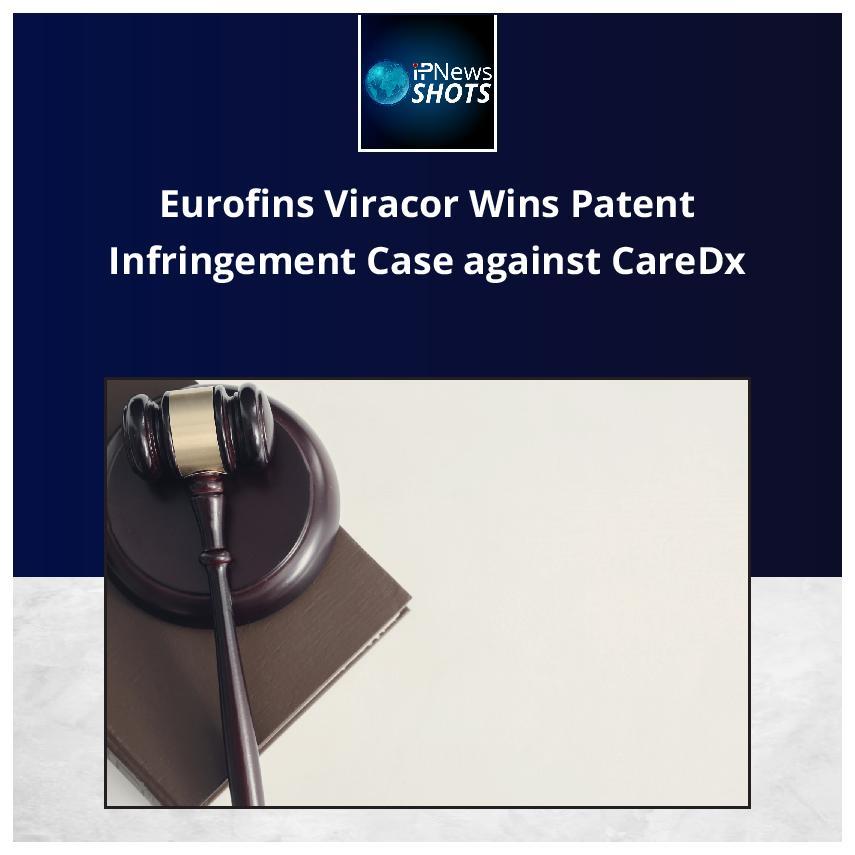 Eurofins Viracor Wins Patent Infringement Case against CareDx